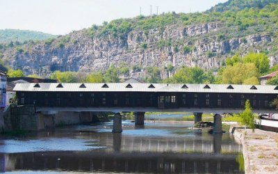 Шедьовърът на Кольо Фичето – Покритият мост в Ловеч