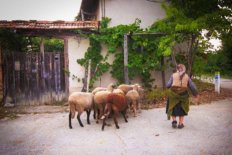 Селото на края на Балкана