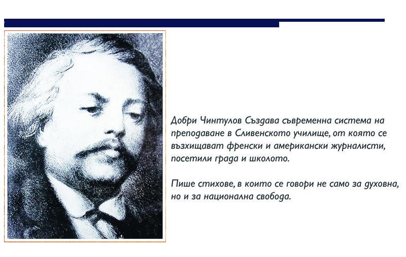Призванието да си учител и будител:  Добри Чинтулов