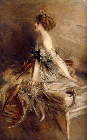 Картина от Джовани Болдини на принцеса Марта Бибеску