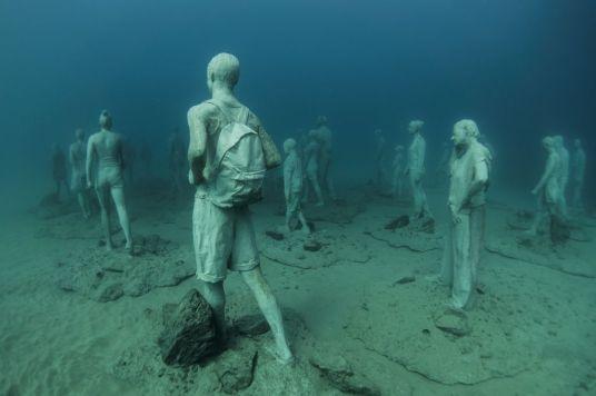 скулптор Джейсън Тейлър / подводен музей