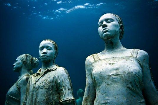 Подводен музей / Джейсън Тейлър