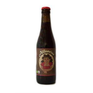 Alfoncine Bière brune Bio 33cl