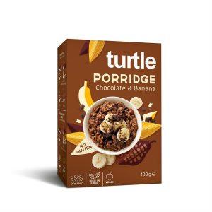 Turtle Porridge Banana-Choco 400g sans gluten