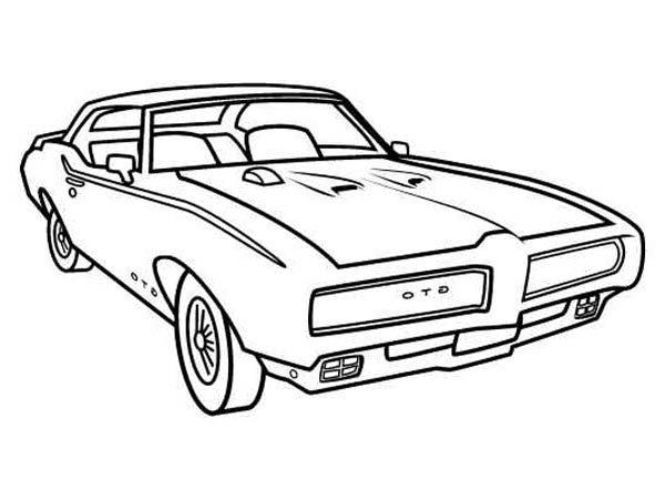 1969 Pontiac Gto Car