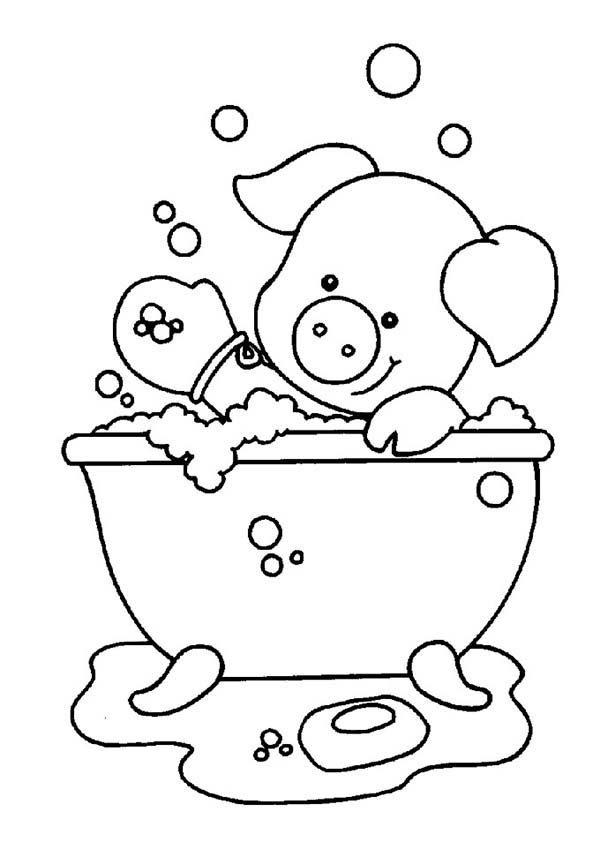 Clip Bath Take Art Soap