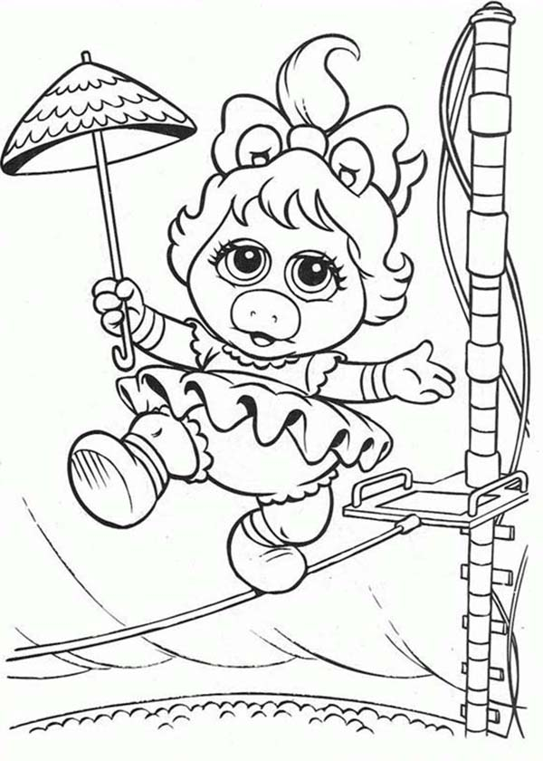 Adventure Of Muppet Babies Coloring Pages Bulk Color
