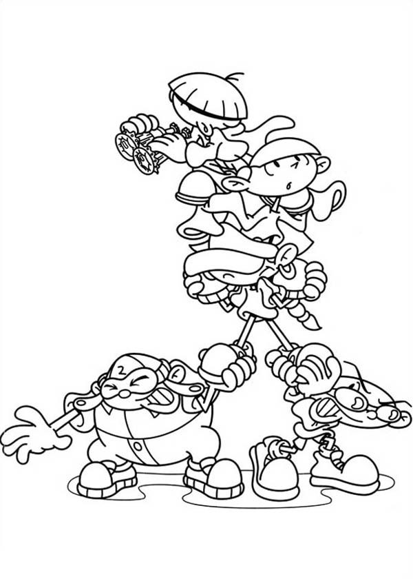 Codename Kids Next Door Numbuh 3 Wiki