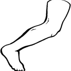 Blank Foot Diagram Msd Ignition Digital 6a Anleitung Lower Arm Free Wiring For You Leg Muscle Sketch Coloring Page Vein School Skeletal