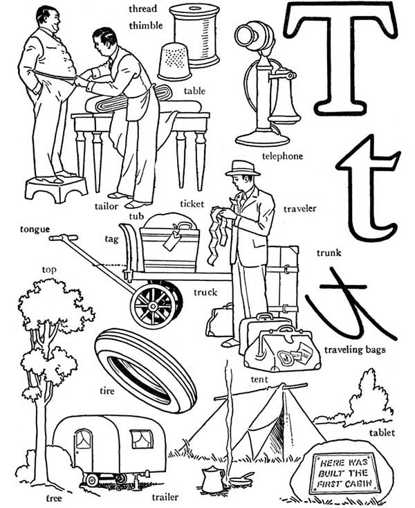 Welcome Page The Words Coloring Pages