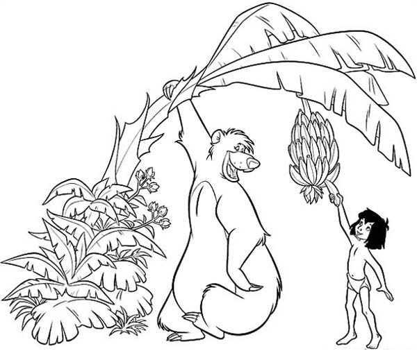 Mowgli Coloring Pages Coloring Pages