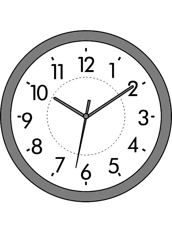 Antiques Clock Coloring Pages