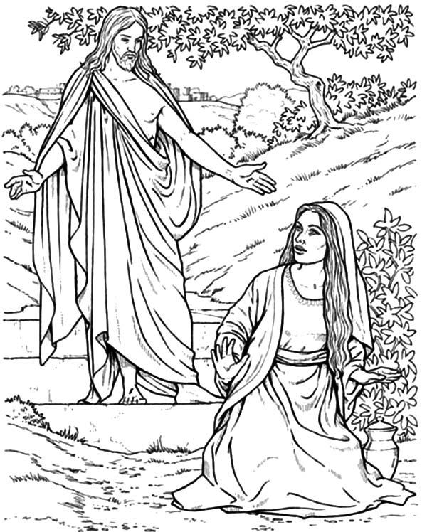 Gods promises, Mary magdalene and Jesus on Pinterest
