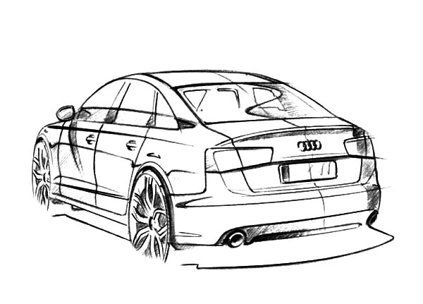 Audi Q7 Coloring Page Coloring Pages