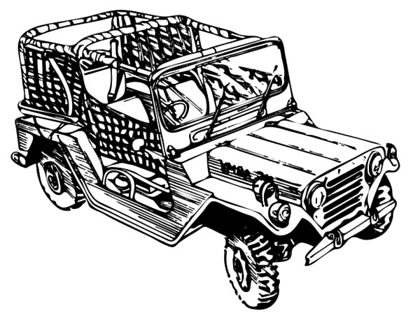 Pin Army-jeep-colouring-pages on Pinterest