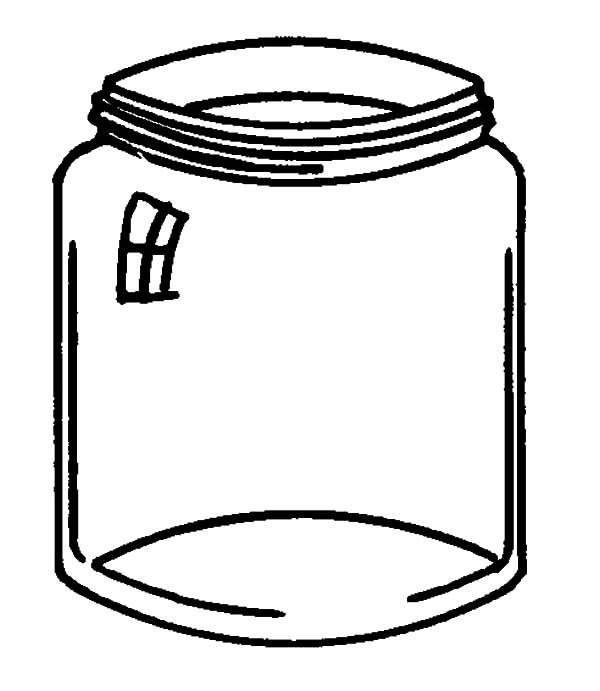 Jelly Bean Jar Coloring Page Jelly Bean Prayer Bookmark