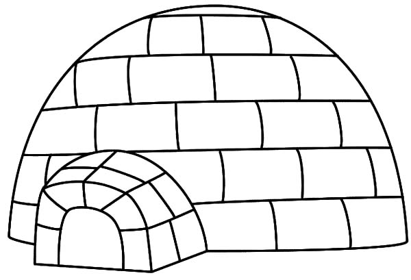 Related Keywords & Suggestions for igloo coloring