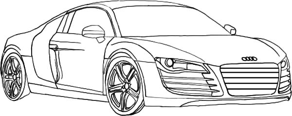 2004 Audi A4 Engine Diagram Sketch Coloring Page