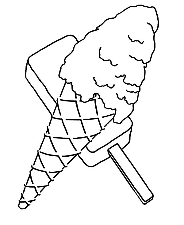 Snow Cone Shopkin Coloring Page Coloring Pages