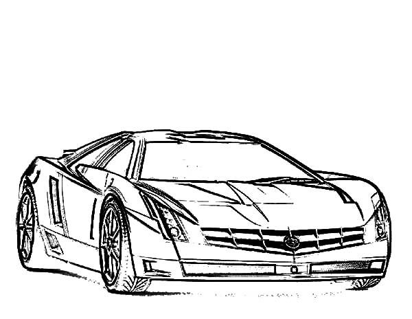 Jaguar Car Coloring Pages