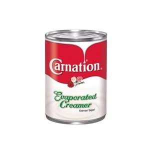 Carnation Krimer Sejat (Evaporated Creamer) - 390 gm x 48 tin x 1 ctn
