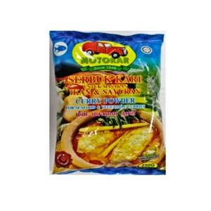 Motokar Serbuk Kari Ikan & Sayuran (Seafood Curry Powder) - 250 gm x 8 pck x 1 bdl