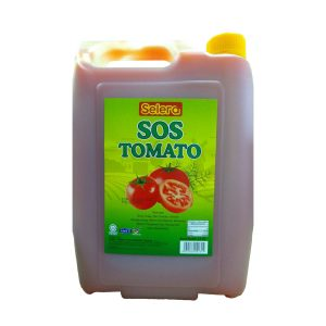 Selera Tomato Sos (Tomato Sauce) - 4.5 Kg x 4 btl x 1 ctn
