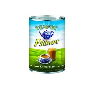 TeaPot Krimer Manis (Sweetened Creamer) - 500 gm x 48 tin x 1 ctn