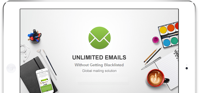 How to send unlimited emails without blacklisted?