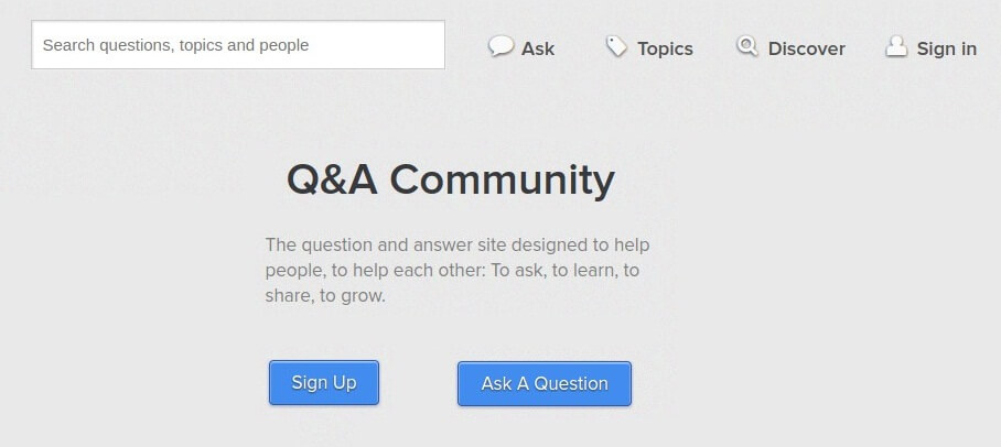 how-to-get-web-traffic-Question-Answer-Website