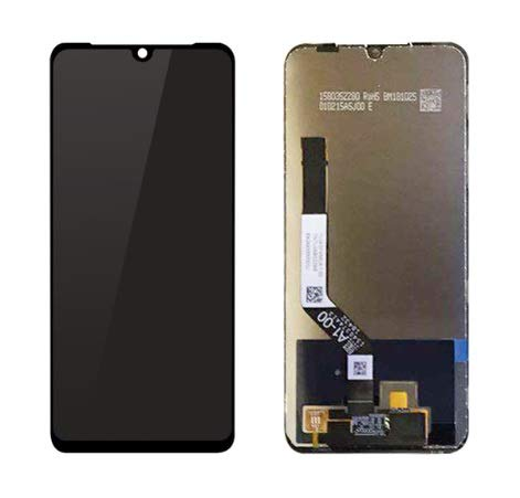 LCD with Touch Screen for Xiaomi Redmi Note 7 2019 - Black (display glass combo folder)