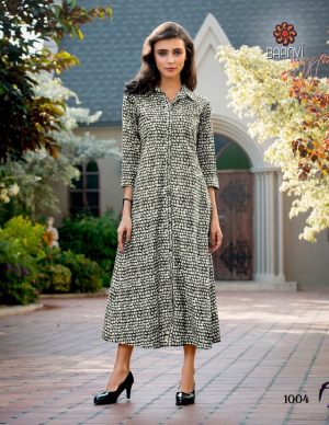 Rs 416 Piece - Baanvi DHARANI Stitched Kurti Wholesale catalog 07 pcs