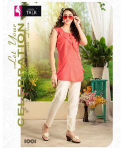 Rs 285 Pc Fashion Talk Kriyaa Stitched Kurti Wholesale Catalog 10 pcs