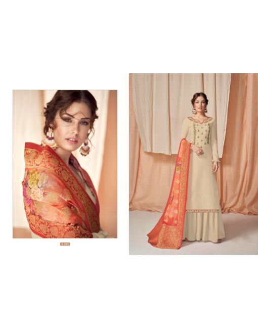Rs 1199 Pc Rumani Wholesale Suit Catalog 08 pcs (Unstitched)
