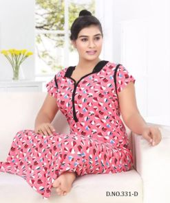 Rs 450 Pc Trendy 331 Wholesale Night Gown Catalog 06 pcs