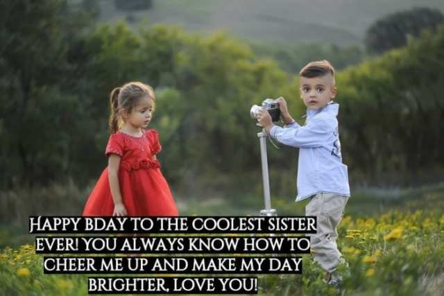 Happy Birthday Images sister