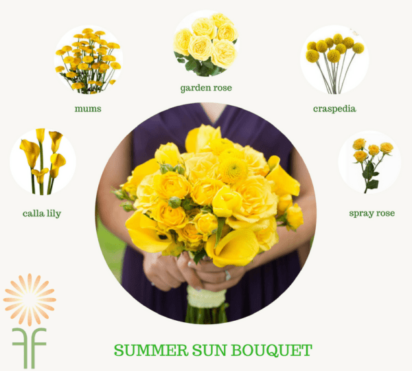 bouquet flower packages summer
