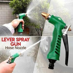 0590 Durable Hose Nozzle Water Lever Spray Gun - Bulkysellers.com
