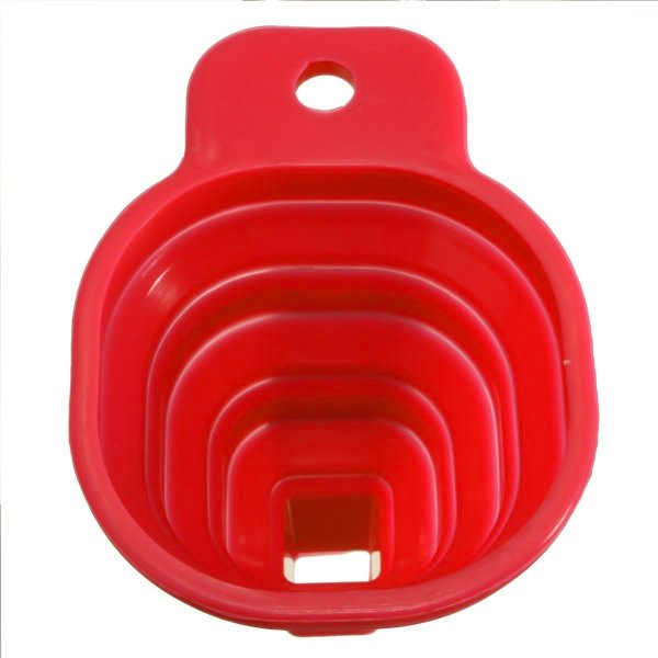 0826 Foldable Kitchen Collapsible Funnel for Water Bottle Liquid Transfer Food Grade Funnels Set (Big) - Bulkysellers.com