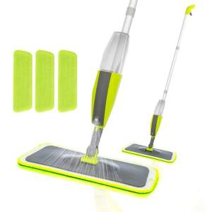 0802 Cleaning 360 Degree Healthy Spray Mop with Removable Washable Cleaning Pad - Bulkysellers.com