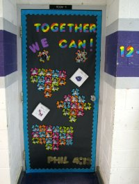 Classroom Door Decoration Ideas For High School ...
