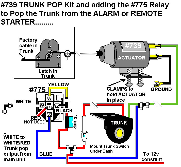 5 prong relay wiring diagram harbor breeze ceiling fan capacitor installation diagrams adding trunk pop actuator 739