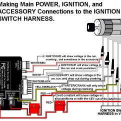 Car Starter Wiring Diagram 1997 Ford Ranger Engine Installation Diagrams Connecting T Harness To Onboard Relays