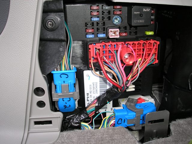 2006 Pontiac Solstice Fuse Box Diagram