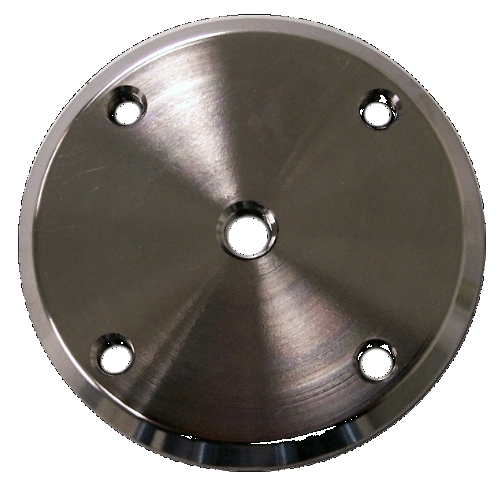 Steel Plate With Threaded Holes