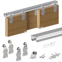 Horus Top Hung Sliding Door System Wardrobe Track Kit