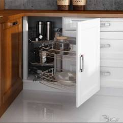 Complete Kitchen Cabinet Set Work Table With Drawers Zauber Ecke Magic Corner