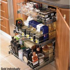 Kitchen Basket Storage Countertops Ideas High Line Pull Out Wire
