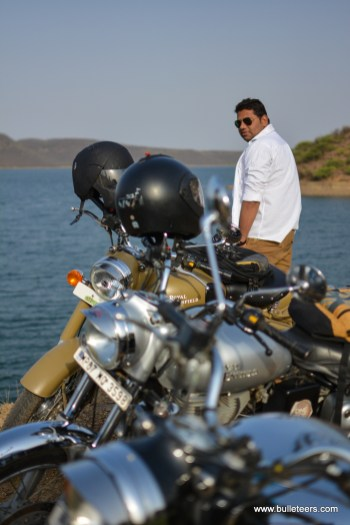Bulleteers, Royal Enfield Riders from Gwalior, are proud to have Rahul Kale as a regular rider