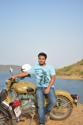 Bulleteers, Royal Enfield Riders from Gwalior, are proud to have Vishesh Nigam as a regular rider